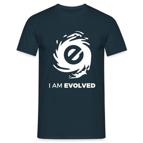 I Am Evolved - Men's T-Shirt