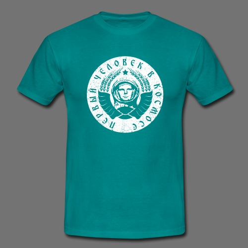 Cosmonaut 1c white (oldstyle) - Men's T-Shirt