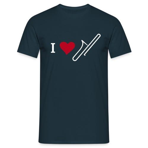 I_LOVE_TROMBONE - Männer T-Shirt