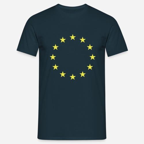 europe stars - Herre-T-shirt