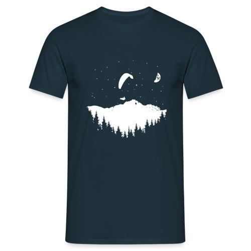 Night Paragliding - Männer T-Shirt