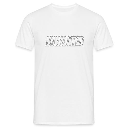 UNWANTED Logo Tee White - Men's T-Shirt