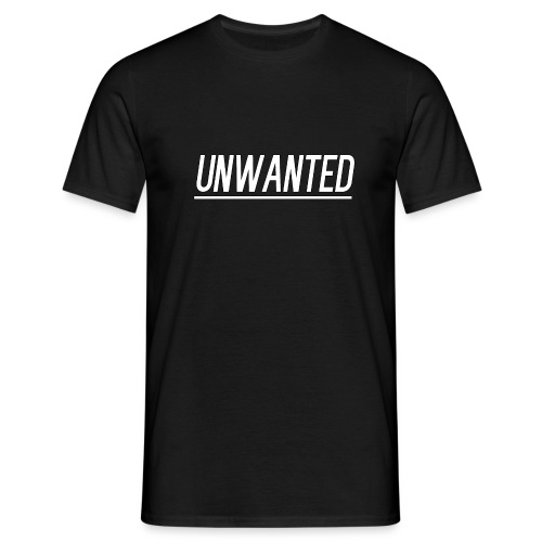 UNWANTED Logo Tee White - Men's T-Shirt