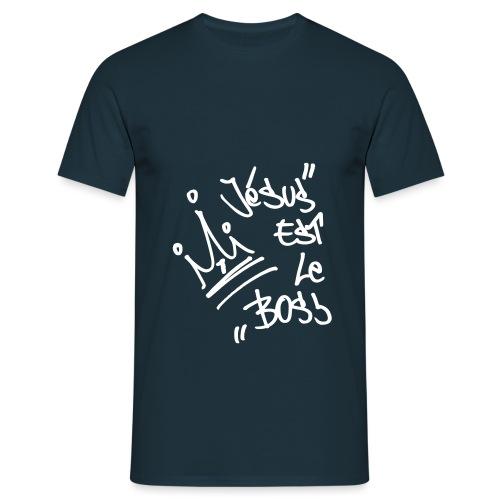 JesusBoss svg - T-shirt Homme
