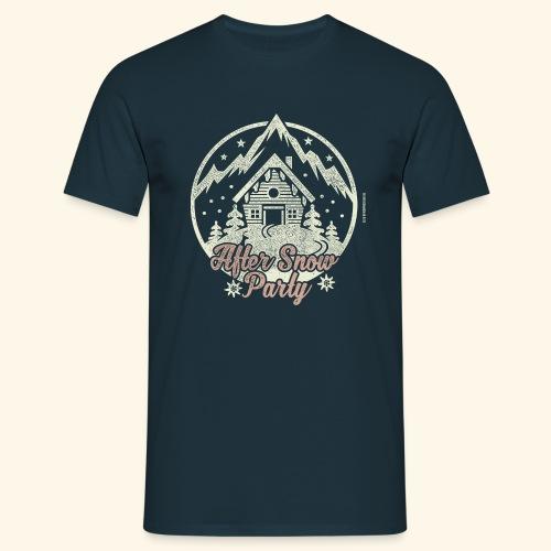 Apres Ski Party T Shirt After Snow Party - Männer T-Shirt