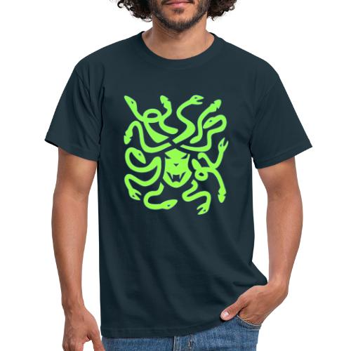 Medusa head - T-shirt herr