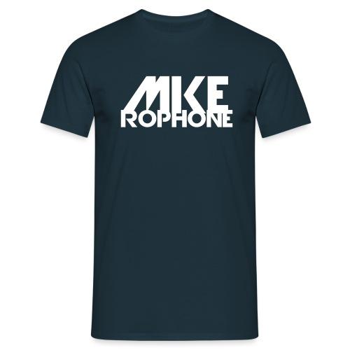 Mike Rophone Silber - Männer T-Shirt