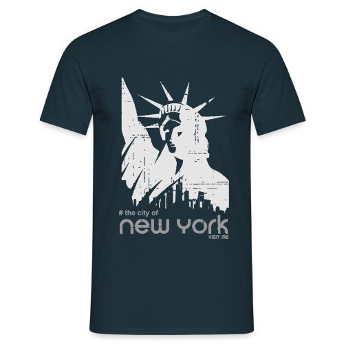 new york visit me - T-shirt Homme