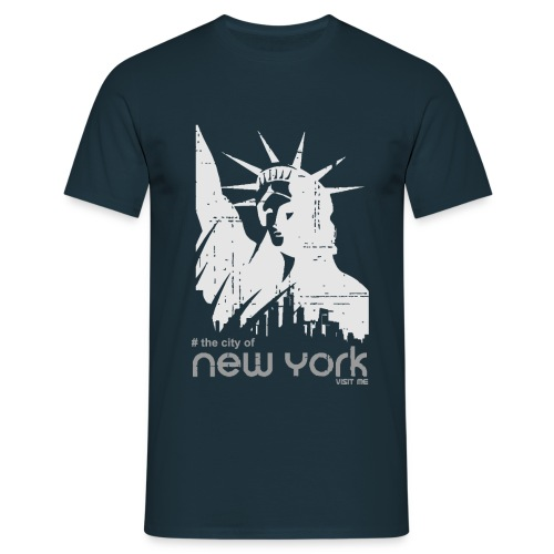 new york visit me - Männer T-Shirt