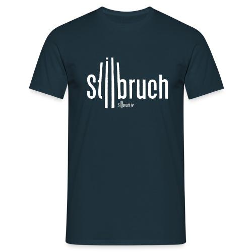 655 stilbruch web illustrator10 NEU - Männer T-Shirt