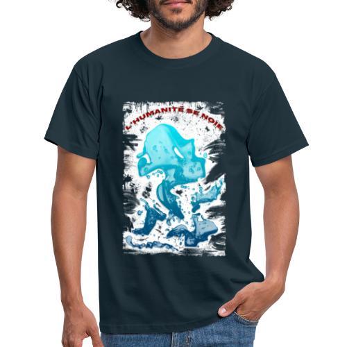 L'humanité se noie style grunge - Tshirtchicetchoc - T-shirt Homme
