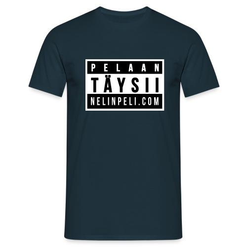 Pelaan täysii - Miesten t-paita