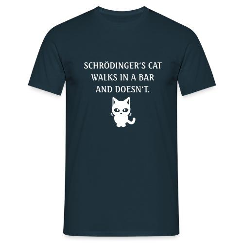 schroedingerscat - Männer T-Shirt