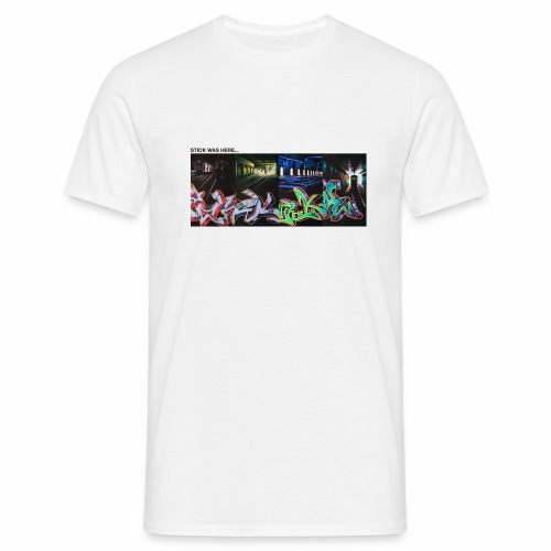 stick x 4 part 1 ver01 - Herre-T-shirt