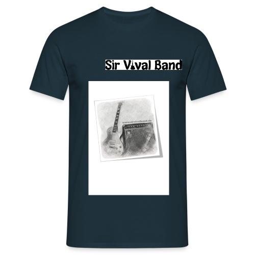 SVB mit Gitarre - Männer T-Shirt