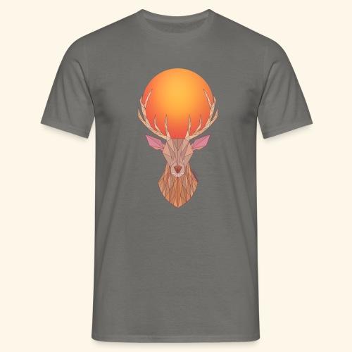 Roi Cerf Doré - T-shirt Homme