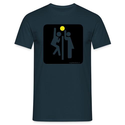 Toilet Volley - Maglietta da uomo