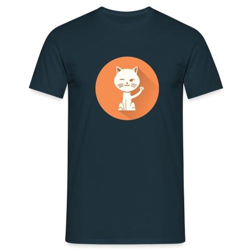 Coole Katze - Männer T-Shirt