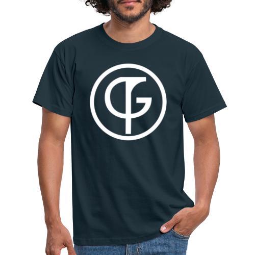 fcg logo BW pokaldiscounter - Männer T-Shirt