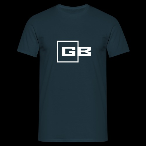 Valkoinen Gymbox logo - Miesten t-paita