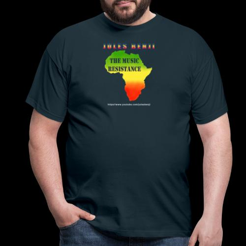 JULES BENJI & MUSIC RESISTANCE africa design - Men's T-Shirt