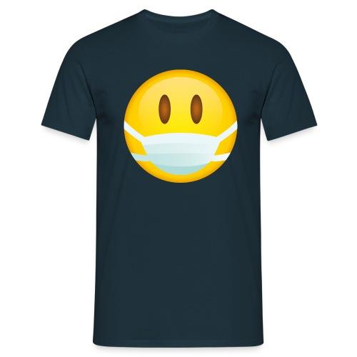 Smile mascarilla - Camiseta hombre