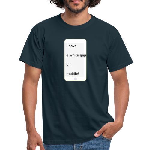 white gap - Männer T-Shirt