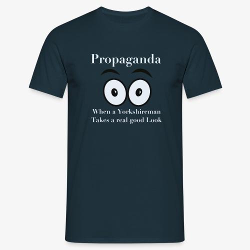 Propaganda t-shirt - Men's T-Shirt