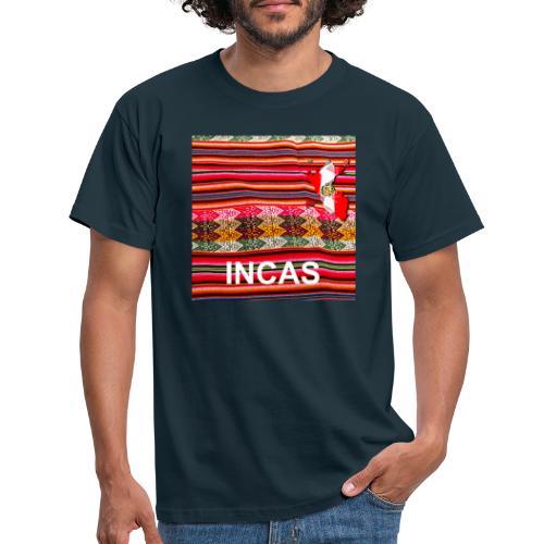 Telar inka Mapa del Peru - Männer T-Shirt
