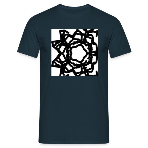 Sternenblume - Männer T-Shirt