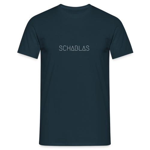 SCHABLAS BLUE - Männer T-Shirt