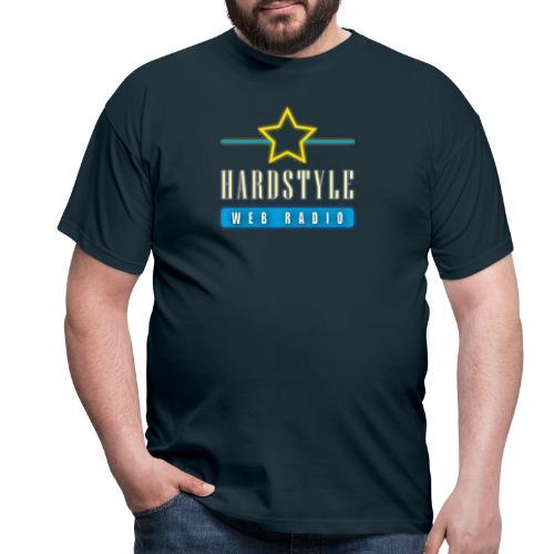 hardstyle webradio logo - Mannen T-shirt