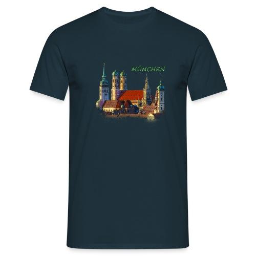 München Frauenkirche - Männer T-Shirt