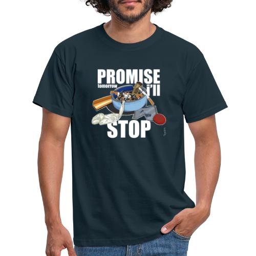 Resolutions - Promise, tomorrow i'll stop - T-shirt Homme