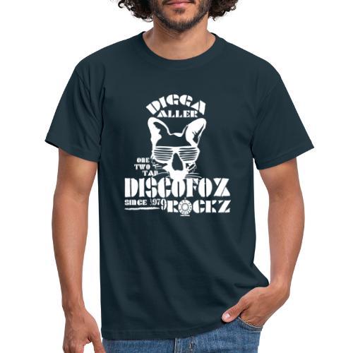 DiscoFox - Männer T-Shirt