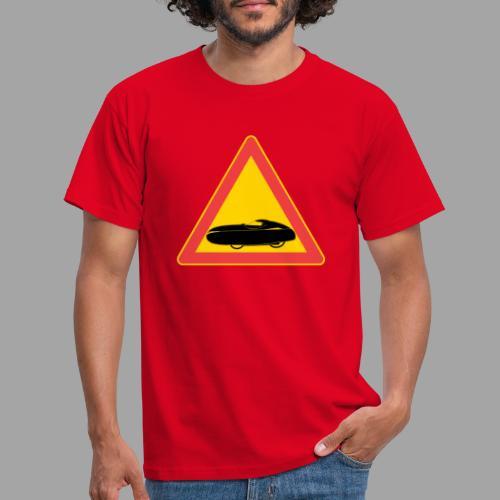 Traffic sign velomobile - Miesten t-paita