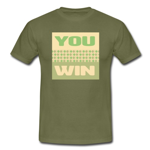 you win 12 - Men's T-Shirt