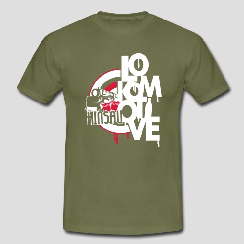 Lokomotive Kinsau - Männer T-Shirt