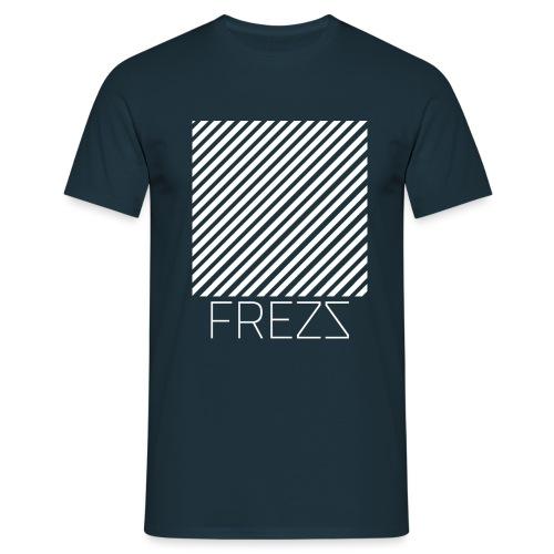 MOTIF FREZZ LIGNES - T-shirt Homme
