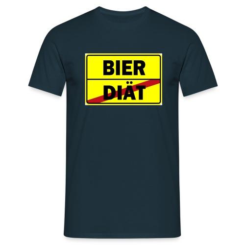 DIAT Bier - Männer T-Shirt