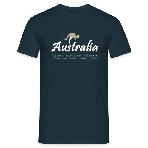 055 australia png - Männer T-Shirt