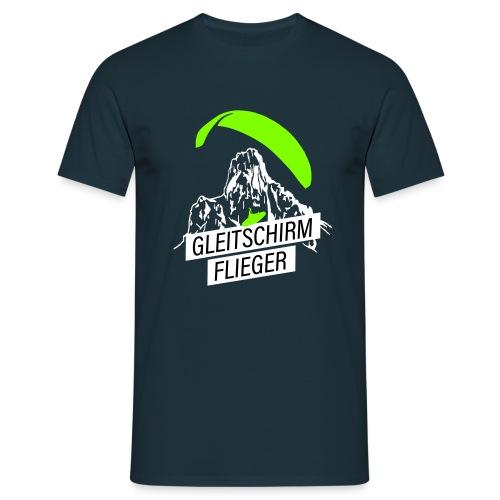 Gleitschirm Flieger Pilot - Männer T-Shirt