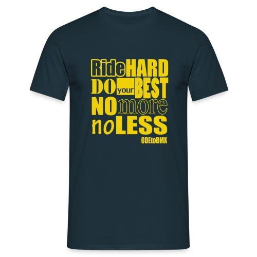 ridehard yellow - Men's T-Shirt