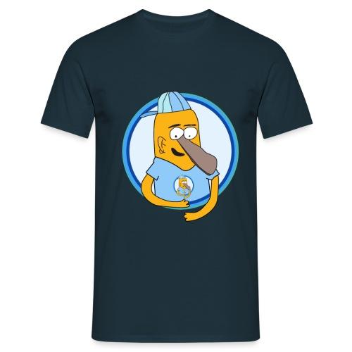 Tryck Tva png - T-shirt herr