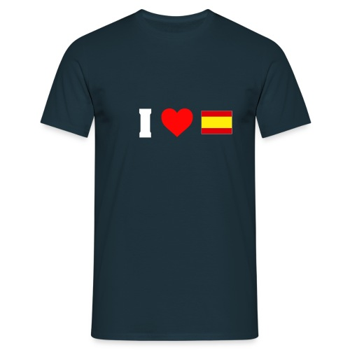 Amo España - Camiseta hombre