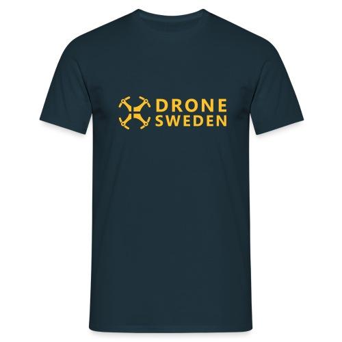 Drone Sweden Logo - T-shirt herr