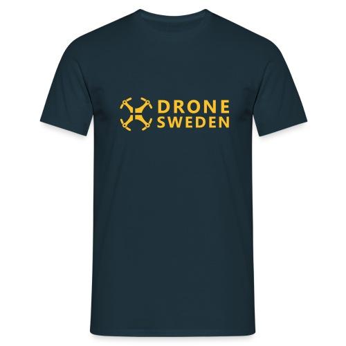 *Drone Sweden Logo - T-shirt herr