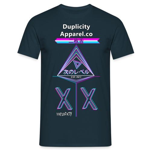 Next Level Duplicity png - Men's T-Shirt