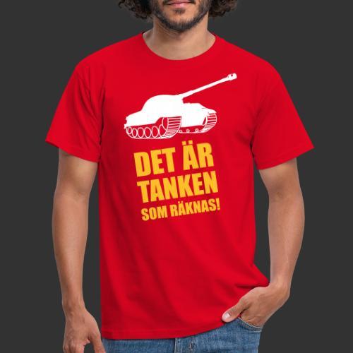 Det är Tanken som räknas - T-shirt herr