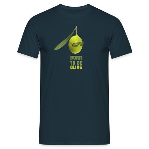 olive lunettes png - T-shirt Homme